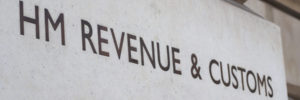 HMRC building sign in London